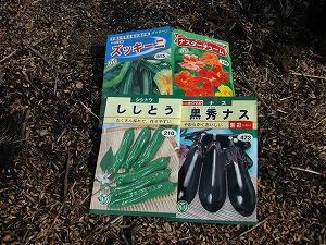 苗作り用種4種
